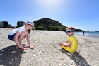 Sunny weather in Mount Maunganui last year. Photo /  George Novak