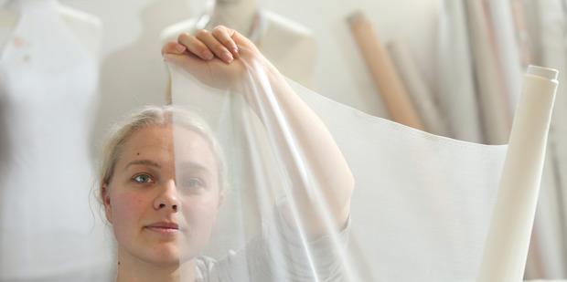 Tauranga's Grace Sutherland is behind the label Grace Millicent. Photo / John Borren