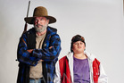 Sam Neill and Julian Dennison starred in Hunt for the Wilderpeople. Photo/Supplied.