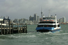Devonport ferries were cancelled this morning after a breakdown. Photo / Brett Phibbs