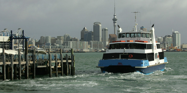 Ferry sailings to and from Devonport have been cancelled this morning. Photo / Brett Phibbs