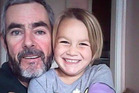 Alan Langdon, 49, and his daughter Que Langdon, 6, have been found in Australia, a child recovery expert has claimed. Photo / Facebook