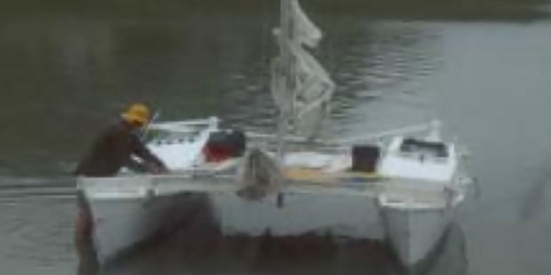 Loading Alan Langdon would have averaged about 50 nautical miles a day  in his catamaran from Kawhia Harbour to Ulladulla, a yachting expert says. Photo / File