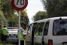 Police will this year focus on seatbelt use. File photo / Glenn Taylor