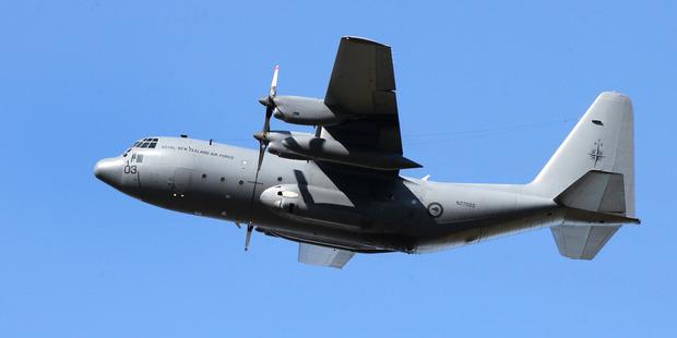 Hercules C130. Photo / Duncan Brown