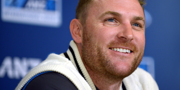 Brendon McCullum says he is enjoying his time playing cricket in Australia. Photo / File