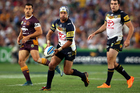 Cowboys star Johnathan Thurston won't necessarily lead the side in his debut appearance at the NRL Auckland Nines in February. Photo / Photosport.