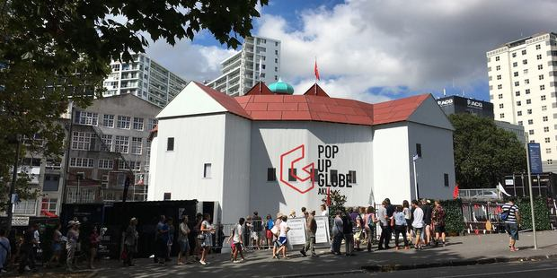 The Pop-up Globe is set to return this year with a brand new location. Photo / Supplied