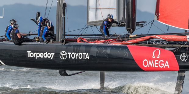 Emirates Team New Zealand will compete in the 35th America's Cup in Bermuda this year. Photo / ACEA