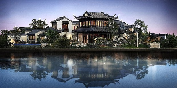 A 32-bedroom, 32-bathroom home in the city of Suzhou, just west of Shanghai, was one of the year's most expensive real estate transactions. Photo / Beijing Sotheby's International Realty