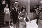Lindy and Michael Chamberlain attend court in Alice Springs during the second inquest. Photo / Getty Images