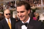 Source: Twitter / @Variety.   At the Golden Globes, Andrew Garfield talked about the time he got stoned at Disneyland.