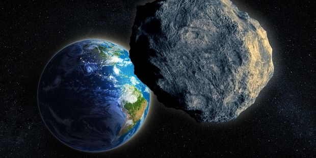 The asteroid passed Earth yesterday at roughly half the distance of the Moon. Photo / 123rf