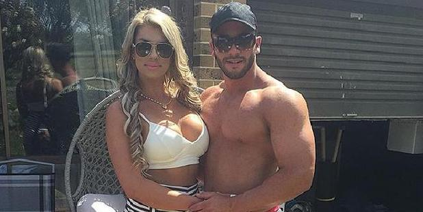 Nateesha Barlin and Dyllan Shaw have been charged with importing steroids and human growth hormones. Photo / Instagram
