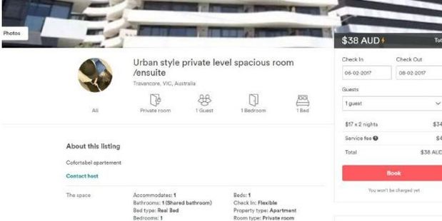 This Airbnb listing has been removed after its host fleeced a woman of $80. And it gets worse.