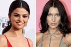 Bella Hadid has unfollowed Selena Gomez on Instagram. Photos / AP