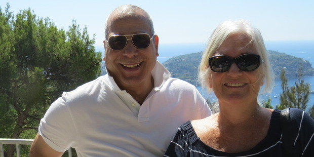 Ahmed and Gislaine escorted their Kiwi friends around the Cote d'Azur.
