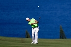 Justin Thomas' victory in Hawaii yesterday was his second on the PGA Tour this season. Photo / AP