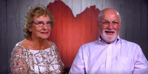 81-year-old Sheila and 79-year-old Bev broke hearts during their First Dates appearance. Photo / First Dates Hotel