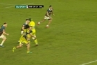 Source: ITV.  New Zealanders often showcase moments of exquisite skill wherever they ply their trade in the rugby world.A prime example of this came in a losing cause in the weekend's Aviva Premiership in England. Harlequins beat Sale Sharks 29-26, but the match highlight was a crosskick by Sharks No 7 and former Otago loose forward TJ Ioane.