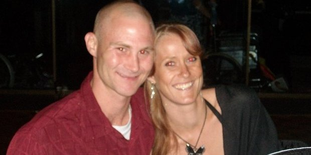 Richie Powell and Jess Lee Donker pictured in 2009 on her Facebook page.