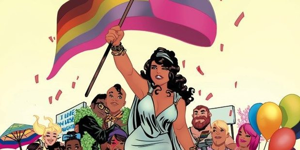The cover for the best selling charity anthology Love is Love. Photo/IDW