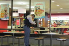 FIGHT SCENE: Police investigate Monday's fight at McDonald's in Napier. Photo/FILE