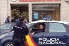 """Source: Miguel Villar   gunman has opened fire in a Spanish supermarket shouting """"Allahu Akbar"""".  The attacker, who was reportedly carrying gasoline and gunpowder, walked into the Mercadona shop in the As Lagoas region of the northwestern region Ourense, before opening firing shots into the air, Daily Mail reports."""