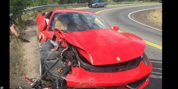 Loading This is how not to drive a supercar. Photo / YouTube