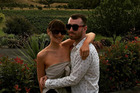 Emma Champtaloup and Sam Smith. Photo / Instagram