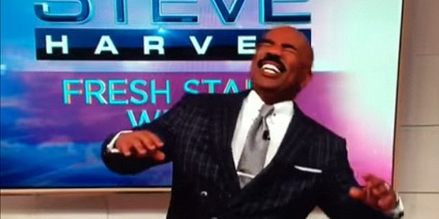 Loading Steve Harvey mocked Asian men on his talk show Monday. Photo / Steve Harvey Show
