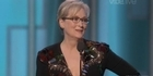 Watch: Watch: Meryl Streep to Trump - 'disrespect invites disrespect'
