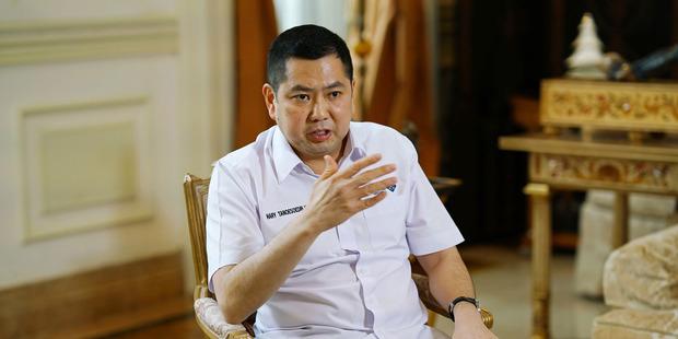 Billionaire Hary Tanoesoedibjo, founder of MNC Group, in Jakarta, Indonesia. Photo / Dimas Ardian, Bloomberg