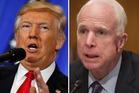 Sworn Donald Trump enemy John McCain has admitted that he passed the dossier of claims of a Russian blackmail plot against the president-elect. Photo: AP Photo/Evan Vucci