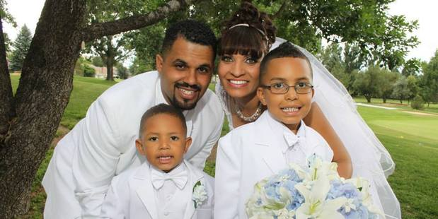 Rene Lima-Marin and his family. Photo / Supplied via Facebook