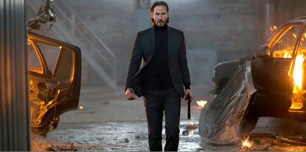 Keanu Reeves stars in John Wick: Chapter 2