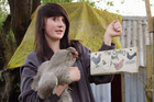 A scene from Pecking Order, the new 'flockumentary' that follows a group of Christchurch chicken fanciers.