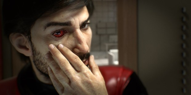 A scene from Prey, a space race game that lets you fool around with alien mods.