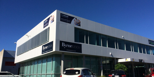 Unit E4 is on the first-level property of 27-29 William Pickering Drive. Photo / Supplied
