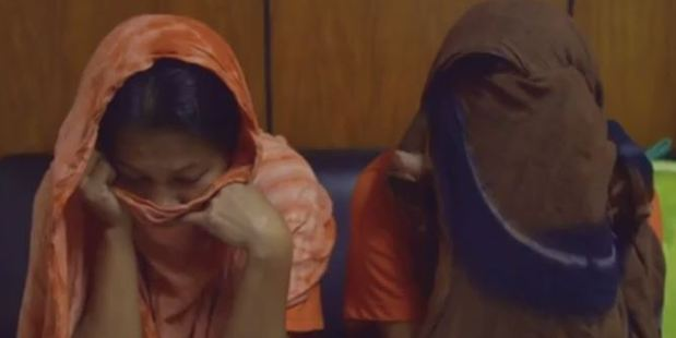 Two sisters attempted to blame the crimes on the children. Photo / BBC