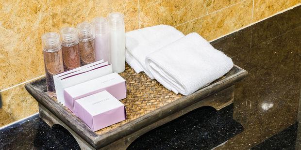 The used bar of soap, half empty shampoo bottles - where do they go? Photo / 123RF