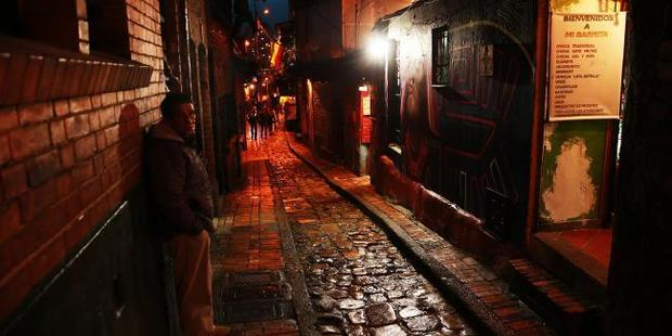 I fell in love with historic Bogota - but it has a seedy side too.