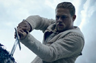 Charlie Hunnam in a scene from King Arthur: Legend of the Sword, which has flopped at the box office. Photo/AP