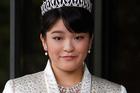 Japan's Princess Mako, the first daughter of Prince Akishino and Princess Kiko. Photo / AP