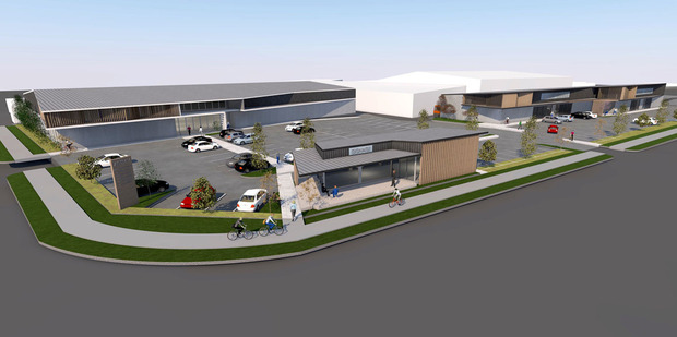 Artist's impression of the New Lynn development due to be completed by mid-to-late 2018. Photo / Supplied