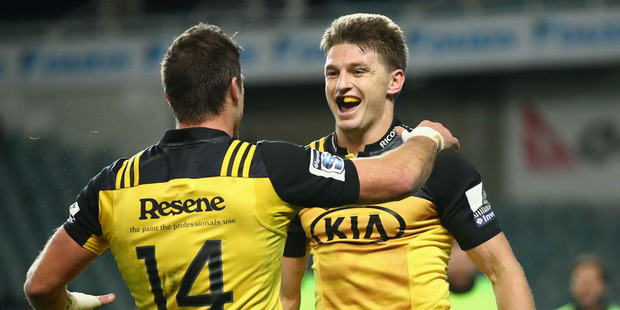 Loading Beauden Barrett of the Hurricanes. Photo / Getty Images.