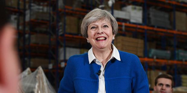 UK Prime Minister Theresa May. Photo / Getty Images