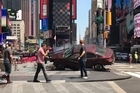 Helen Klisser was the first on the ground during the horrendous incident in Times Square today.