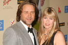 Russell Crowe and Terri Irwin, pictured during the 2007 Australia Week Gala. Photo / Getty