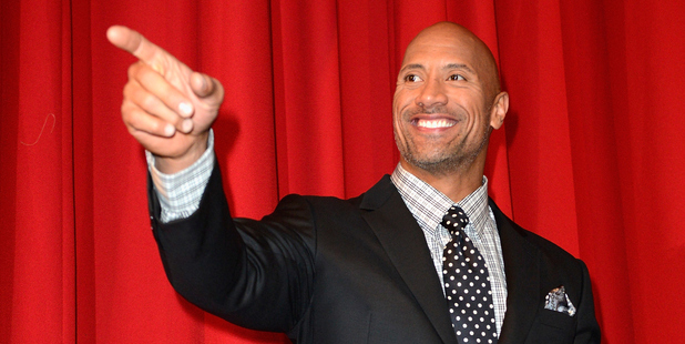 Dwayne Johnson wants to be the next USA president. Photo / Getty